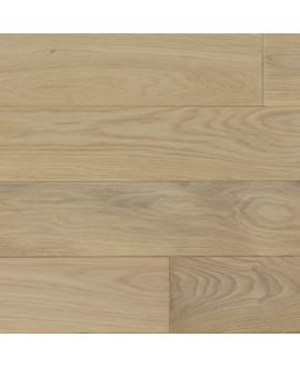 Plancher chêne blanchi massif huilé, grande largeur parquet bois, largeur 150 mm, vienna XL white