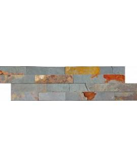 parement en pierre MO fachaleta oxydo 15x55x2cm