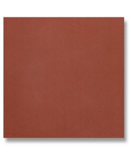 Carrelage en terre cuite rouge mécanique carré 20x20cm, épaisseur 9mm