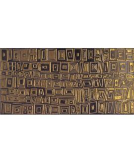 Carrelage effet métal or 20x40cm V michigan tawa oro