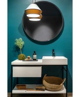 Carrelage moderne bleu 25x75x1cm rectifié santaspring