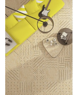 Carrelage imitation bois aggloméré naturel mat,patchwork, 59.3x59.3cm rectifié, R10, V strand masai naturel grafito