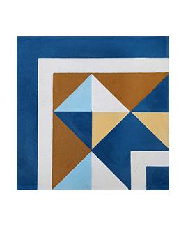 Carrelage ciment angle 3870-A2 20x20cm