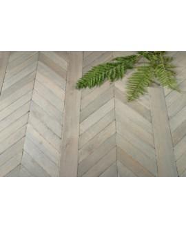 parquet chêne français massif fougères , vieux gris , ép : 14 mm , largeur 80 mm