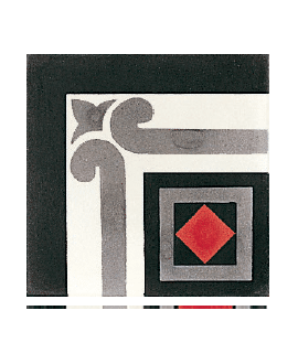 Carrelage ciment angle 4560-A1 20x20cm