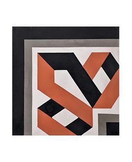 Carrelage ciment angle 4640-A1 20x20cm