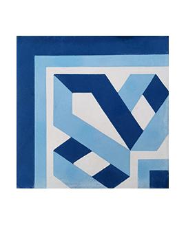 Carrelage ciment angle 4640-A4 20x20cm
