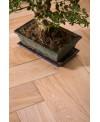 parquet chêne massif , brossé aktiss huilé , choix rustique , ép : 14mm, largeur 150 mm