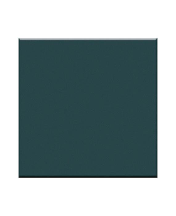Mosaique en grès cérame mat de couleur malachite 5X5cm sur trame