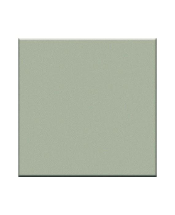 Mosaique en grès cérame mat de couleur mastic 5X5cm sur trame,VO