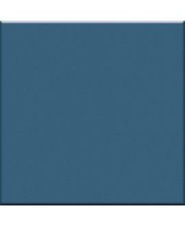 Mosaique en grès cérame brillant bleu ceruleo 5X5cm sur trame VO