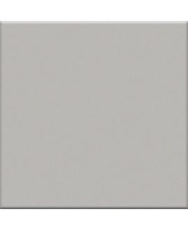 Mosaique en grès cérame brillant de couleur argent 5X5 cm sur trame VO