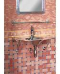 Mosaique et rosace en terre cuite fait main émaillée ou naturelle