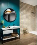 Carrelage salle de bain zen cosy cocoon