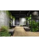 Carrelage maison et local professionnel zen, cosy, cocoon