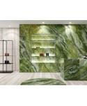Carrelage imition marbre brillant de faible épaisseur de luxe