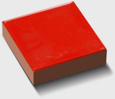 cabochon salernes rouge clair