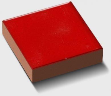 cabochon salernes rouge foncé